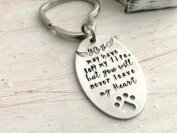 Selling: Pet Loss Keychain for Dog Lover