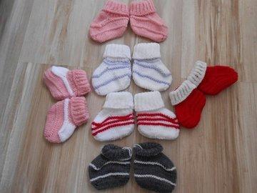 Vente au détail: chaussons bébé,chaussons bébé en laine/chaussons chaussette