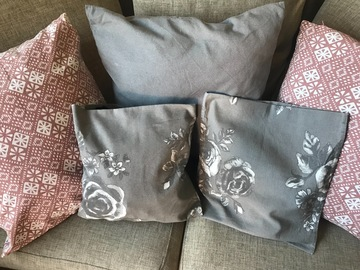 Myydään: 5 cushion covers H&M home IKEA