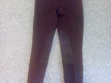 Myydään: Female trousers for horse riding, 36, dark brown