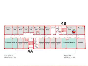 Renting out: 2 kpl kahden huoneen comboa haagan liikenne-ympyrän nurkilta