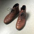 Myydään: leather ankle boots