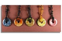Bulk Lot: 60 --Genuine Stone Necklaces--