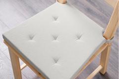 Myydään: 4 Ikea chair cushions in good condition.