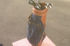 Myydään: Golfset+Lady golf shoes