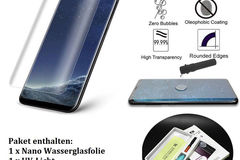 Bulk Lot: Full Adhesive Glue Galaxy S8 S8+ S9 S9+ N8 N9Tempered Glass