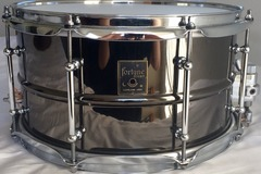 Selling with online payment: Fortune 13x7 Black Nickel Over Brass Snare Drum
