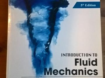 Myydään: Introduction to Fluid Mechanics - 5th Edition (SI Version)