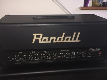 Renting out: Randall RG1003H with 4x12 Cabinet