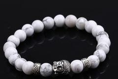 Single Item: Mens LuxuryLava Chakra Bracelet w/ Natural Stone