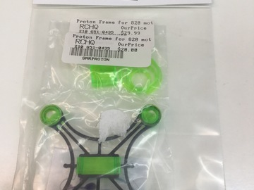Selling: SMR Proton Frame for 820 motors.