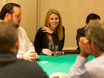 Request To Book & Pay In-Person (hourly/per party package pricing): Poker Party Experience (Full Setup W/ Dealer)