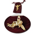 Buy Now: 50-- Angel Pin with Genuine Ruby with Velvet Gift Pouch $1.99