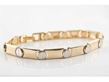 Buy Now: 40-- Cartier Love Style Bracelet-- 2-Tone gold/silve-- $2.49 pcs!