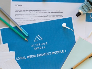 Business Services: Online Course: Social Media Strategy