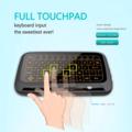 Bulk Lot: 50x 2.4Ghz H18+ Backlit Mini Wireless Keyboard Touchpad PS4