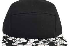 Bulk Lot: OTTO Hawaiian Pattern 5 Panel Camper Hat  (144 Hats)