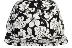 Bulk Lot: OTTO Hawaiian Pattern Snapback 5 Panel Camper Hat (144 Hats)