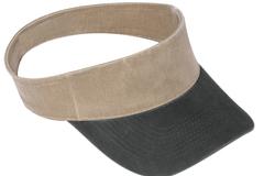 Bulk Lot: OTTO Garment Washed Sun Visor Hat (144 Hats)