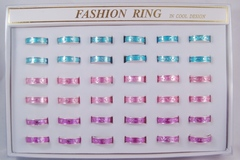 Buy Now: 360 Pieces Assorted Metal Rings in Display Boxes