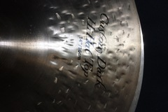 "Selling with online payment: Pr. of 14""  Zildjian K Custom Dark Hi-Hats used"