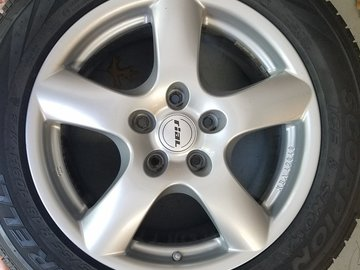 Selling: FS  5 X 130 18 inch Rial wheels and tires. Carver MA