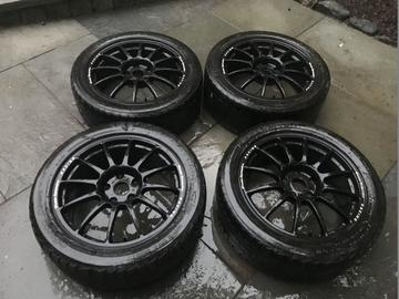 Selling: 17x7 5x112 ET38 Team Dynamic Pro Race 1.2 Wheels