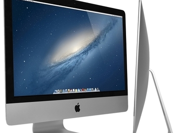 """Single Item: Apple iMac 27"""" Core i7-3770 Quad-Core 3.4GHz All-in-One Comp"""