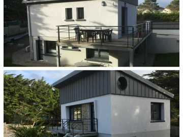 Location par mois: Maison F3 - Portbail (70m²)