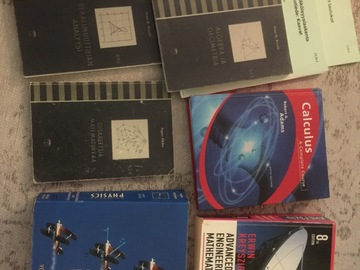 Selling: Math and physics books