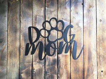 Selling: Dog Mom - Black