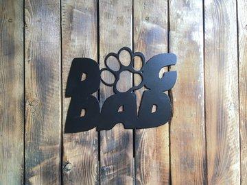Selling: Dog Dad - Black