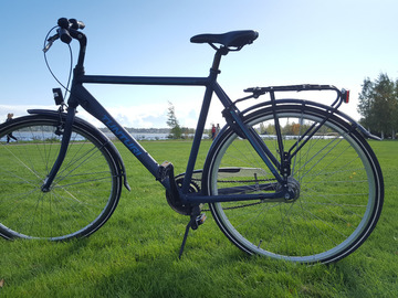 "Myydään: Light-weight men's bicycle 28"" (new since 6 months)"