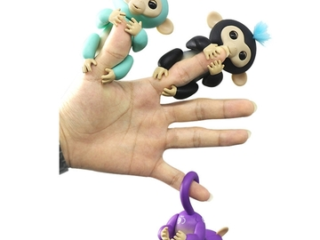 Buy Now: Lot of 10 Happy Finger interactive Monkey Toy