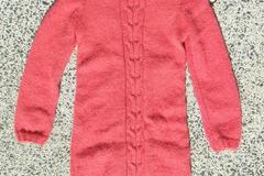 Vente au détail: Robe tricotée mains en mohair