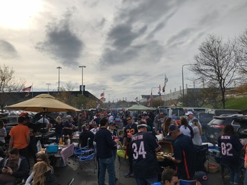 Paid Events: Da Bears!!! South lot tailgating at its finest.