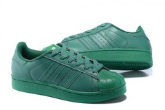 Vente avec paiement en ligne: Femme/Homme Adidas Originals Superstar Vert