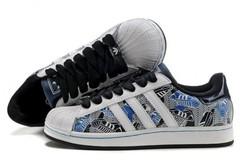 Vente avec paiement en ligne: Femme Adidas Originals Superstar barbouillage