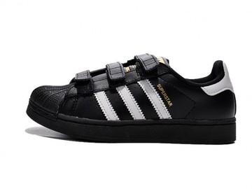 Vente avec paiement en ligne: KIDS Adidas Originals Superstar Noir