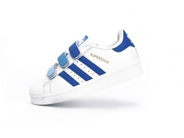 Vente avec paiement en ligne: KIDS Adidas Originals Superstar Bleu