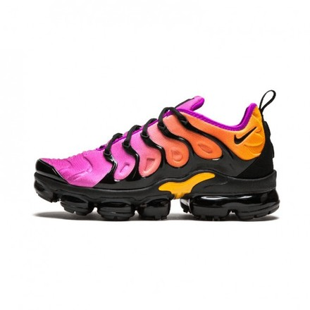 Femme Nike Air VaporMax Plus Noir/Rose/Jaune - lebonmarket
