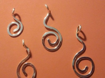 Selling: Sterling Silver Journey of Life Pendants