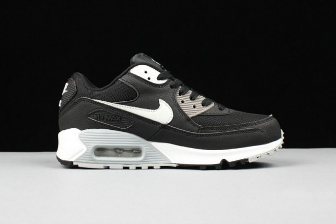 acheter pas cher 2f6b1 e2bf3 Femme/Homme Nike Air Max 90 Noir/Gris/Blanc - lebonmarket
