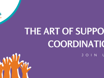 Events - paid: The Art of Support Coordination by Valued Lives