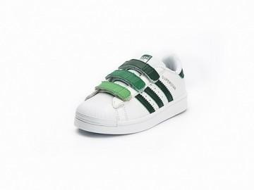 Vente avec paiement en ligne: KIDS Adidas Originals Superstar Vert