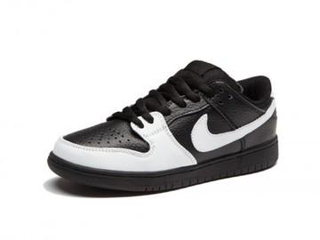 Vente avec paiement en ligne: Femme Nike Dunk SB Noir/Blanc