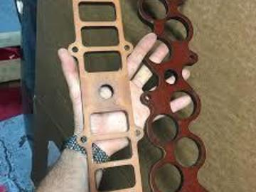 Selling with online payment: GT40 intake gasket and 1/2 spacer