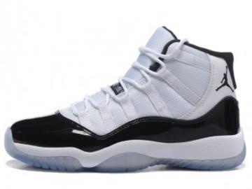 Vente avec paiement en ligne: Femme/Homme Nike Air Jordan 11 Noir/Blanc