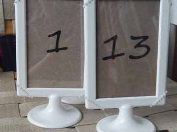 Ilmoitus: Pöytänumerot 1-13