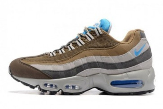 new products 51a1c f51ae Homme Nike Air Max 95 Gris Brun